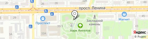 Любимый комод на карте Кемерово
