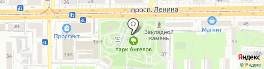 Банкомат, Банк Левобережный, ПАО на карте Кемерово