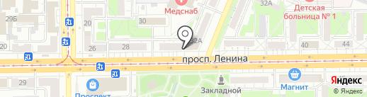 Прозрение на карте Кемерово