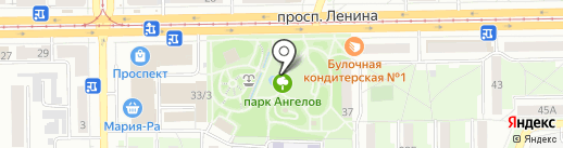 Планета обуви на карте Кемерово