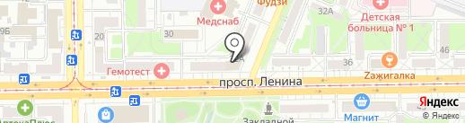 Сибирский центр мастеров красоты на карте Кемерово