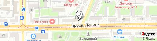 КемТекс на карте Кемерово