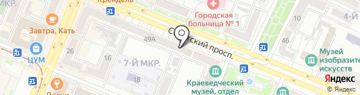 Хлебница на карте Кемерово