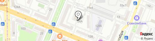 Созвездие на карте Кемерово