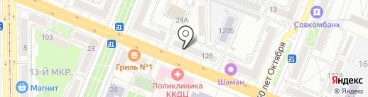 Чистовье на карте Кемерово