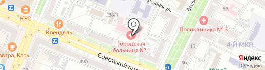 Банкомат, Банк ВТБ, ПАО на карте Кемерово
