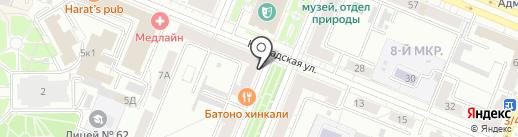 PORT coffee на карте Кемерово