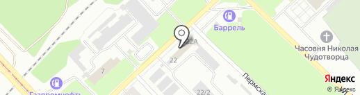 Амбаръ на карте Кемерово