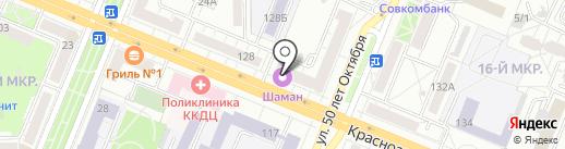 Балетель на карте Кемерово