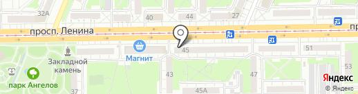 Леди Роз на карте Кемерово
