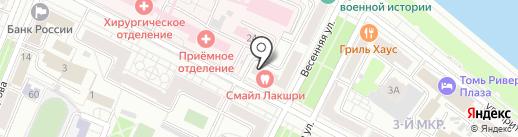 Городская на карте Кемерово