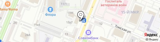 Кофе Тайм на карте Кемерово
