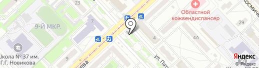 Дёнер на карте Кемерово