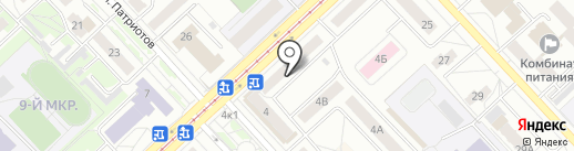 БериРубли на карте Кемерово