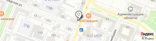 Элифант на карте Кемерово