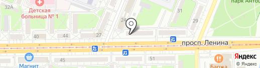 Комод на карте Кемерово