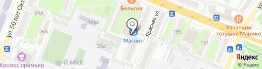 СТК-М на карте Кемерово