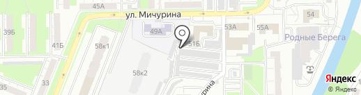 АвтоДок на карте Кемерово