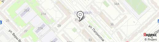 Экона на карте Кемерово