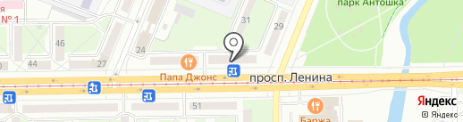 Coffee Break на карте Кемерово
