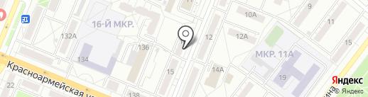 Цветы и сад на карте Кемерово