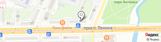 Доктор Пилюлькин на карте Кемерово