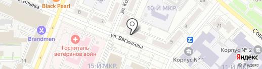 Эгоистка на карте Кемерово