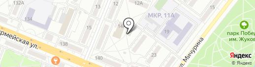 Баня на Красной на карте Кемерово
