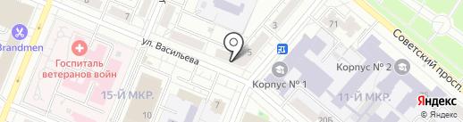 Форма-Т на карте Кемерово