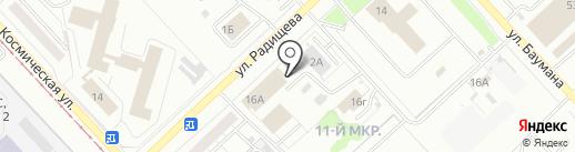 Легион 42 на карте Кемерово