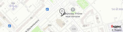 Amigo на карте Кемерово