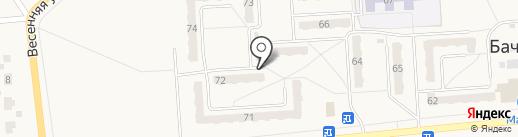 БелРемСервис на карте Бачатского