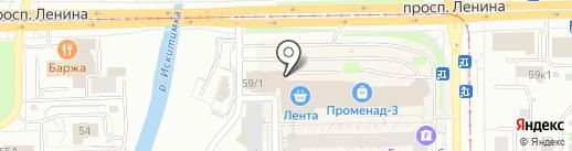 Пивоварня Лобанова Premium на карте Кемерово