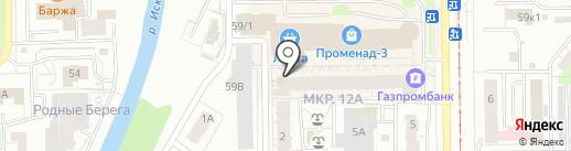 Банкомат, Альфа-банк на карте Кемерово