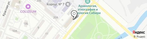 Перспектива на карте Кемерово
