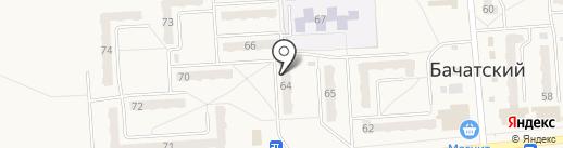 Creative на карте Бачатского