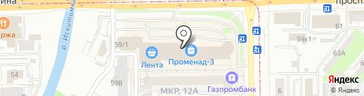 Магазин табачных изделий на карте Кемерово