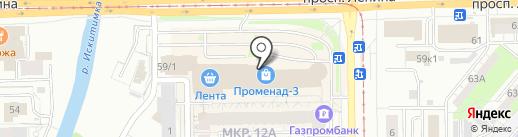 Гармония здоровья на карте Кемерово