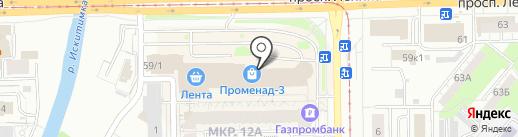 Международный центр психологии и развития на карте Кемерово