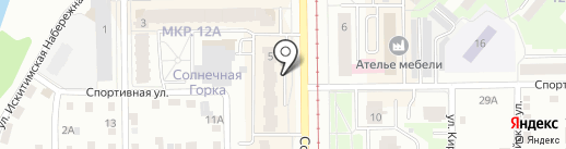 Студия красоты Екатерины Головей на карте Кемерово