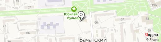 Успех на карте Бачатского