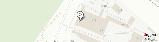 Светофор на карте Кемерово