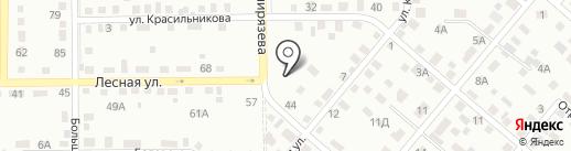 555 на карте Кемерово