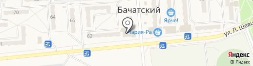 Фэмили на карте Бачатского