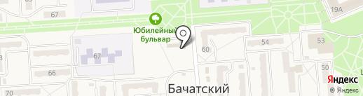 Мясная лавка на карте Бачатского