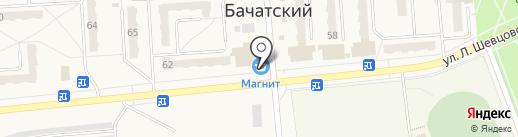 Банкомат, Банк ВТБ 24, ПАО на карте Бачатского