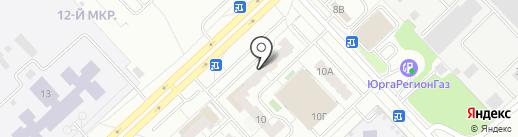 Почтовое отделение связи №40 на карте Кемерово
