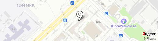 ФОДОС на карте Кемерово