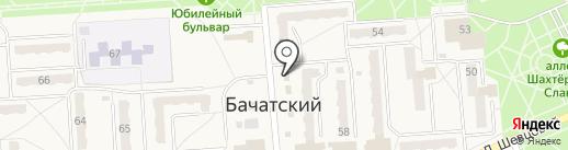 Добрыня на карте Бачатского