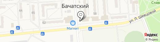 Кузбасспечать на карте Бачатского